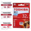 TOSHIBA Micro SD Card 32GB Class 10 SDHC 16GB/64GB Class10 UHS-1 48MB/S SDXC Memory Card Flash Memory Microsd for Smartphone