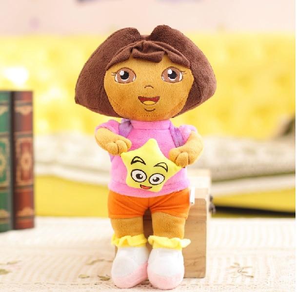 2014 детей, как плюшевые игрушки любовь приключения ДОРА dola куклы куклы плюшевые игрушки детские творческие подарок на день рождения элементы