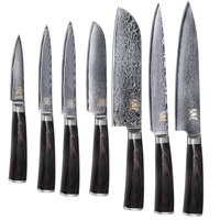 Best Professional Damascus Steel Knife Sharp Durable Cooking Knife 100 Brand New Kitchen Knife Color Wood
