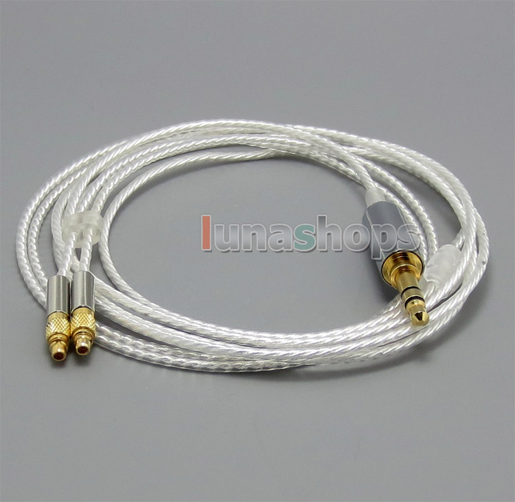 6N OCC Silver Plated Cord Headaphone Cable For Shure srh1440 srh1840 SRH1540 LN004672