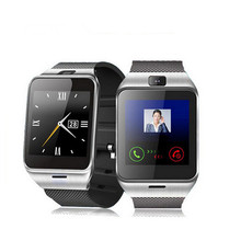 2016แฟชั่นสมาร์ทนาฬิกาGV18สำหรับโทรศัพท์Android,สนับสนุนซิมการ์ด, NFC,บลูทูธสมาร์ทนาฬิกา550มิลลิแอมป์ชั่วโมงแบตเตอรี่ระยะเวลานานนาฬิกา