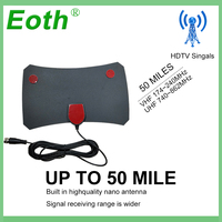 vhf uhf Eoth חינם TVFox TVSurf HDTV מקורה כונס איתותים Surf טלוויזיה דיגיטלית פוקס אנטנה כבל רדיוס Antena DVB-T DVB-T2 VHF UHF Antenas (3)