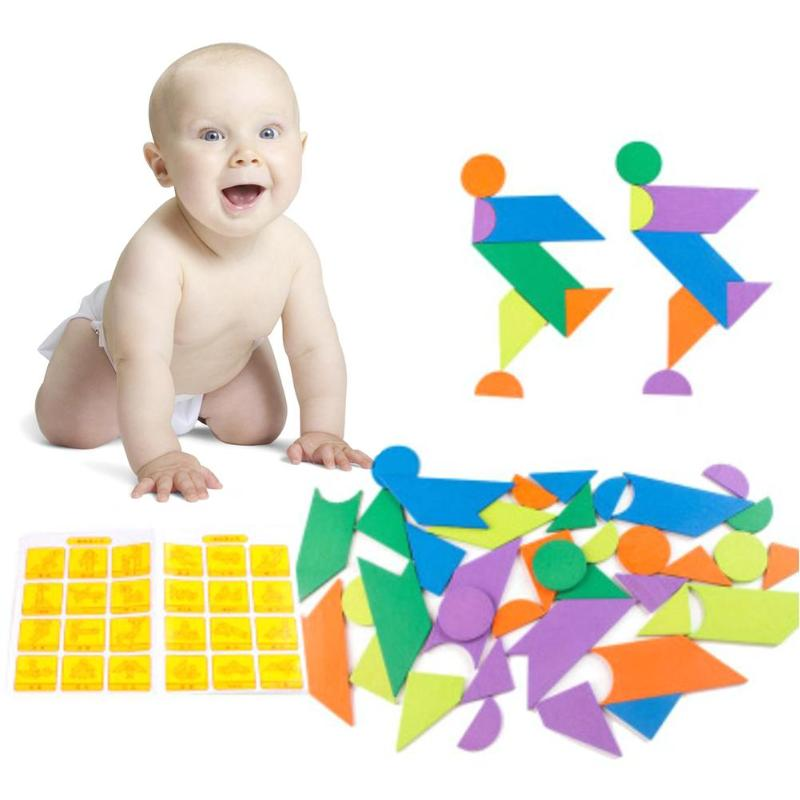 DIY деревянные головоломки Детская интеллектуальной обучения игрушка