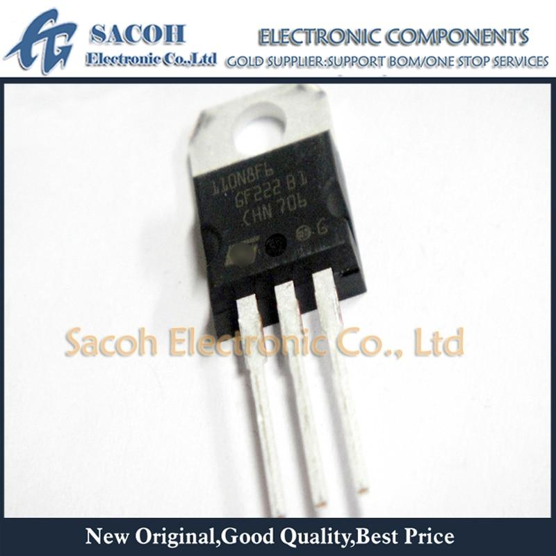 Free Shipping 10Pcs  STP110N8F6 110N8F6 STP110N8F7 STP110N7F6 TO-220 110A 80V Power MOSFET