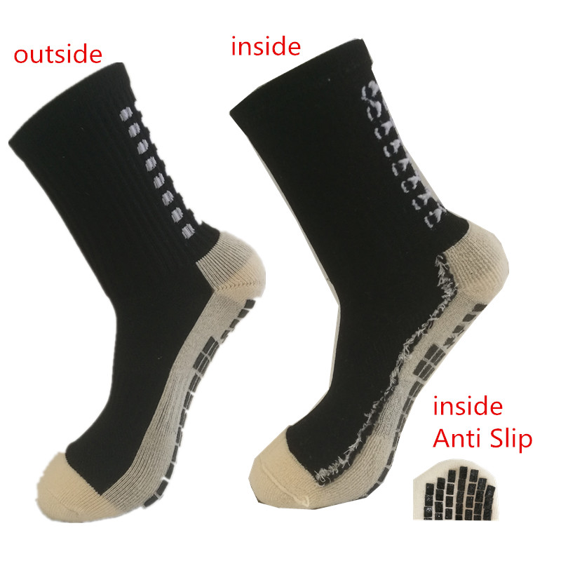 Anti Slip Soccer Socks Cotton Cycling Football Men Sport Socks Calcetines Double-Sided Non-Slip