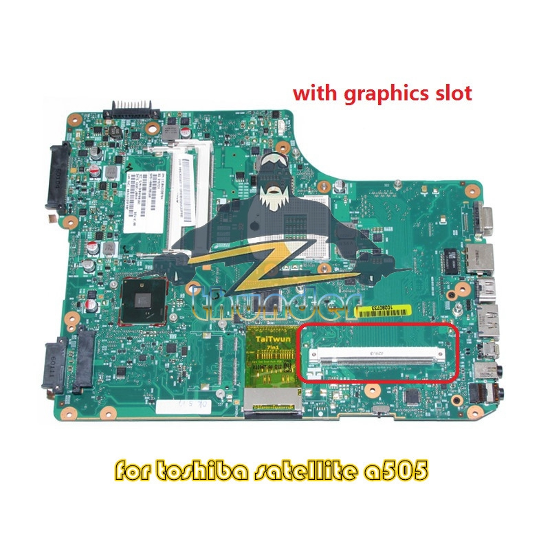1310A2338704 V000198160 for toshiba satellite A500 A505 Laptop motherboard hm55 gma hd ddr3 цена