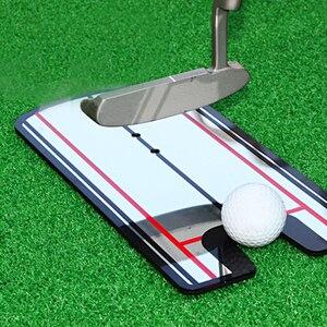 Image 2 - 2019 nouvelles aides à lentraînement de golf balançoire de Golf pratique droite Golf mise miroir alignement balançoire formateur ligne oculaire accessoires de Golf
