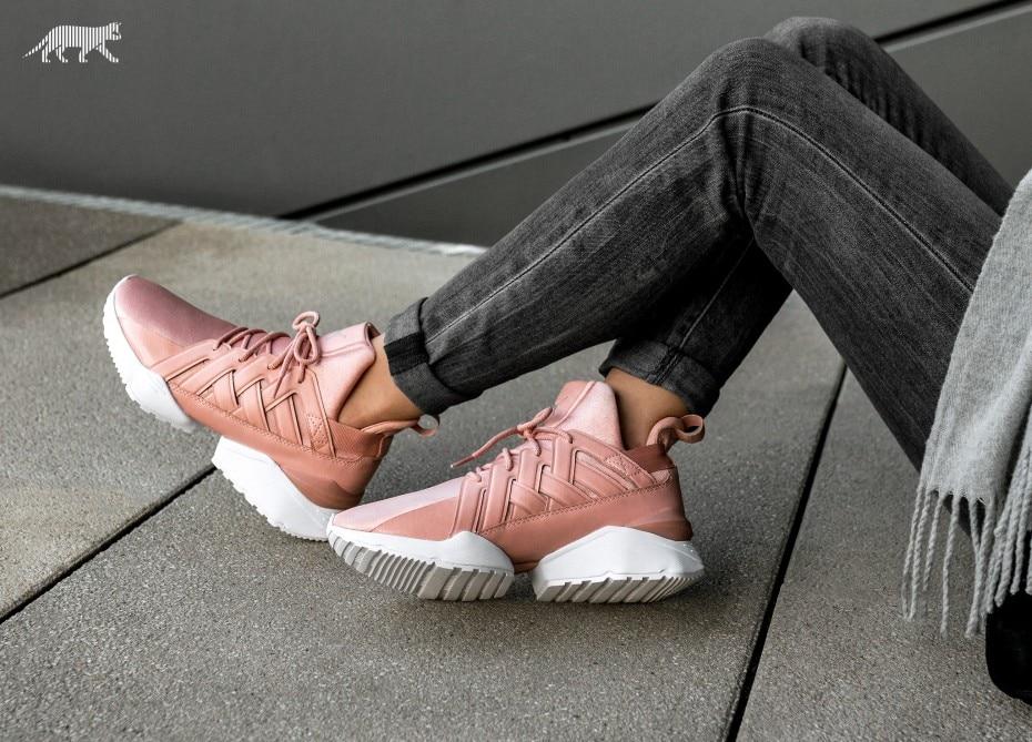 PUMA Women's Muse Echo Satin EP Sneakers Badminton shoes Size 35-40 hot 2018 puma women s muse echo satin ep sneakers badminton shoes size 36 40