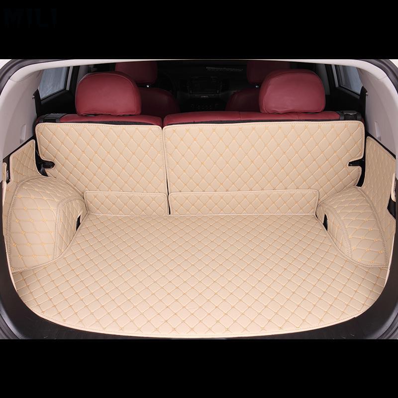 Custom car trunk mats for Cadillac all models SRX XT5 CT6 ATSL XTS car styling auto accessories