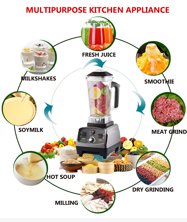 HTB1jZbSgCzqK1RjSZFHq6z3CpXac BPA Free Commercial Grade Timer Blender Mixer Heavy Duty Automatic Fruit Juicer Food Processor Ice Crusher Smoothies 2200W