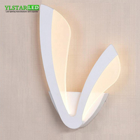 YLSTAR Free shipping 12W Led Wall Light Makeup Mirror Lights Indoor Bathroom Dressing room Kitchen Decor cabinet Lamp AC85 265V