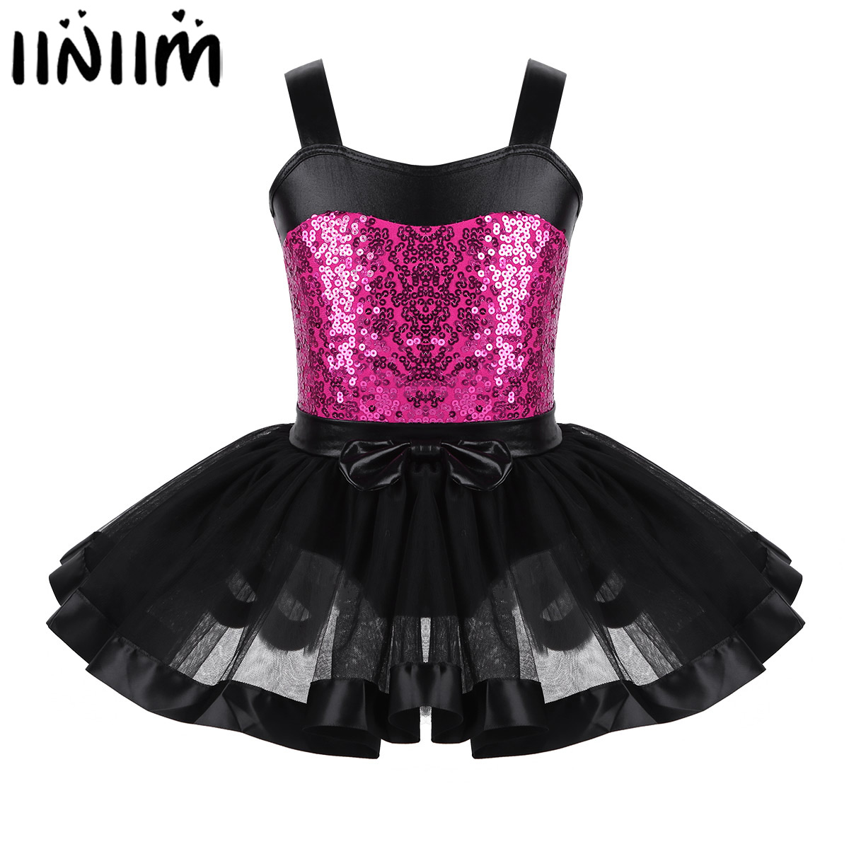 kids-girls-font-b-ballet-b-font-leotard-tutu-dress-reflective-dancewear-gymnastics-leotard-dress-dancing-ballerina-lyrical-dance-costumes