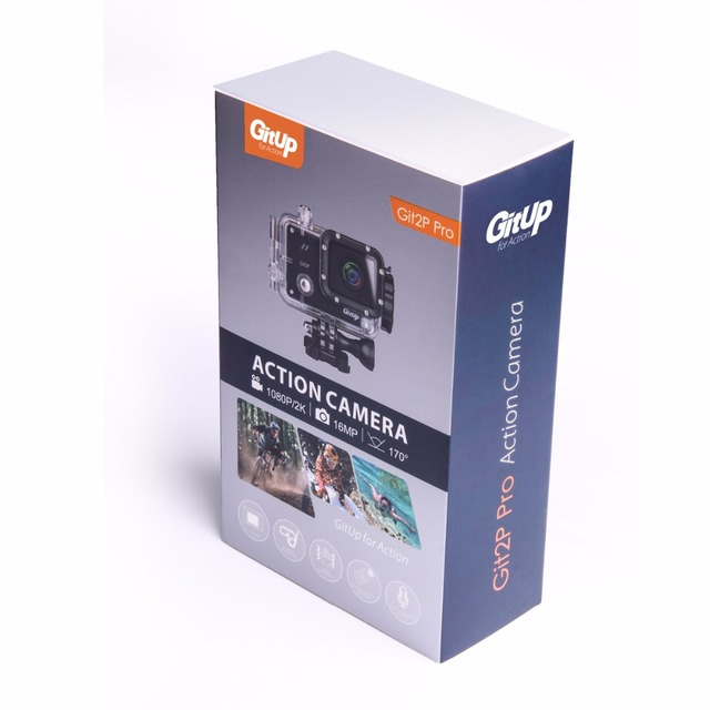 Waterproof Action Camera with Display Screen