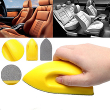 Car Nano Felt  Washing Tool Interior Leather Seat Brush Door Mat Cleaning Auto Accessories