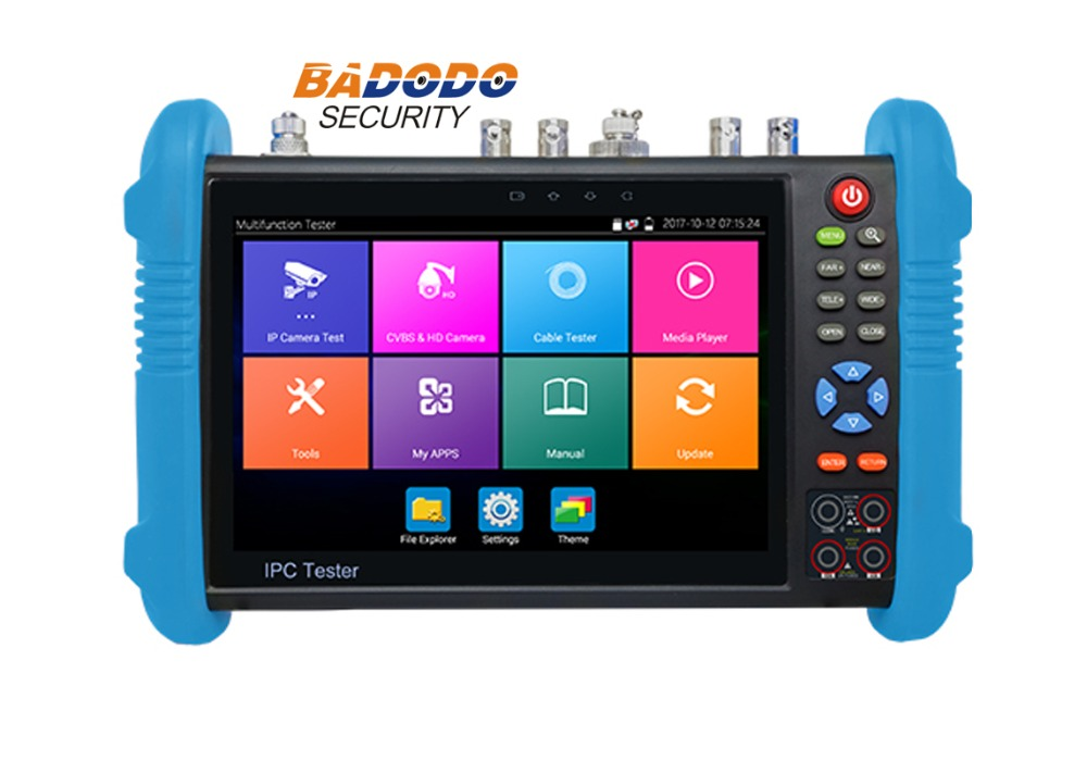 7 Inch IPS Touch Screen 4K H.265 IP,Full 4K HD Camera Tester IPC-9800Plus Series Optional For TVI, CVI, AHD & SDI/EX-SDI