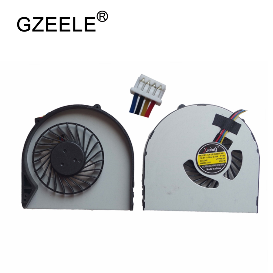 GZEELE NEW Laptop cpu cooling fan for Lenovo B480 B480A B485 B490 M490 M495 E49 B580 B590 V480C V580C Notebook cooler fan 4 pin gzeele new laptop cpu cooling fan for samsung np530u3c 532u3c np535u3c np540u3c notebook computer replacements cpu cooling