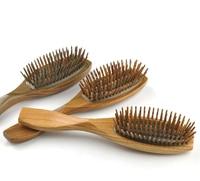 New Hair Care Green sandalwood wood Combs Air bag Detangling Airbag Brush Detangle Healthy Care Massage Antistatic Hairbrush