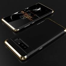 For Samsung Galaxy Note 8 Original Metal Bumper Case For Samsung Galaxy Note 8 Luxury Ultra Thin Aluminum Hard Shockproof Case
