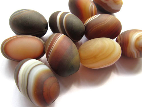 12pcs 20x28mm hamdade genuine Botswana Agate bead barrel rice crab brown connetor pendant beads tumbled pink botswana agate mostly 5 8 1 1lb bag