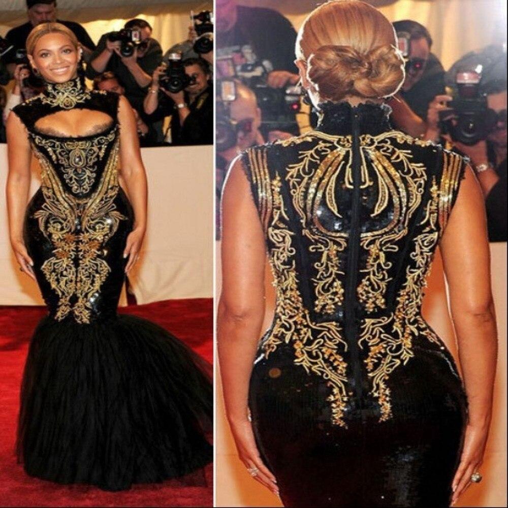 2014 Fashion Celebrity Inspired Dress Myriam Fares Dress Beyonce