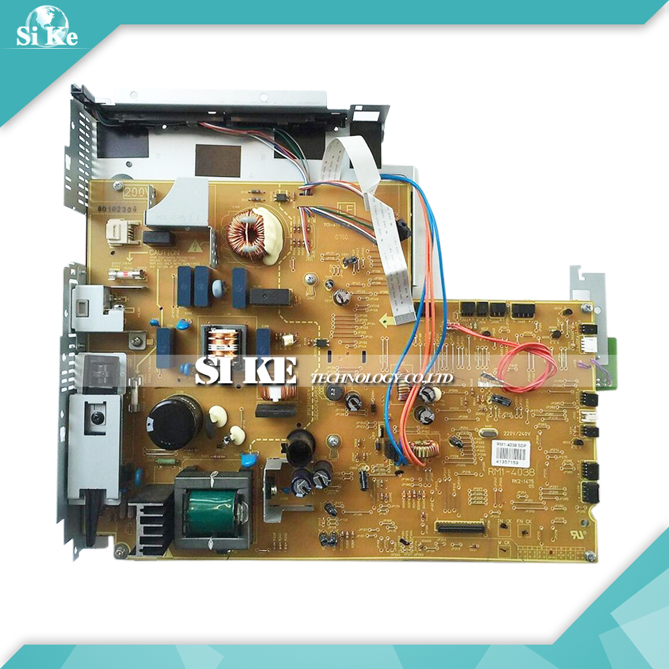 LaserJet  Engine Control Power Board For HP P3005 P3005D P3005DN RM1-4038 RM1-4037 3005 3005DN  Voltage Power Supply Board repalce paper roller kit for hp laserjet laserjet p1005 6 7 8 m1212 3 4 6 p1102 m1132 6 rl1 1442 rl1 1442 000 rc2 1048 rm1 4006