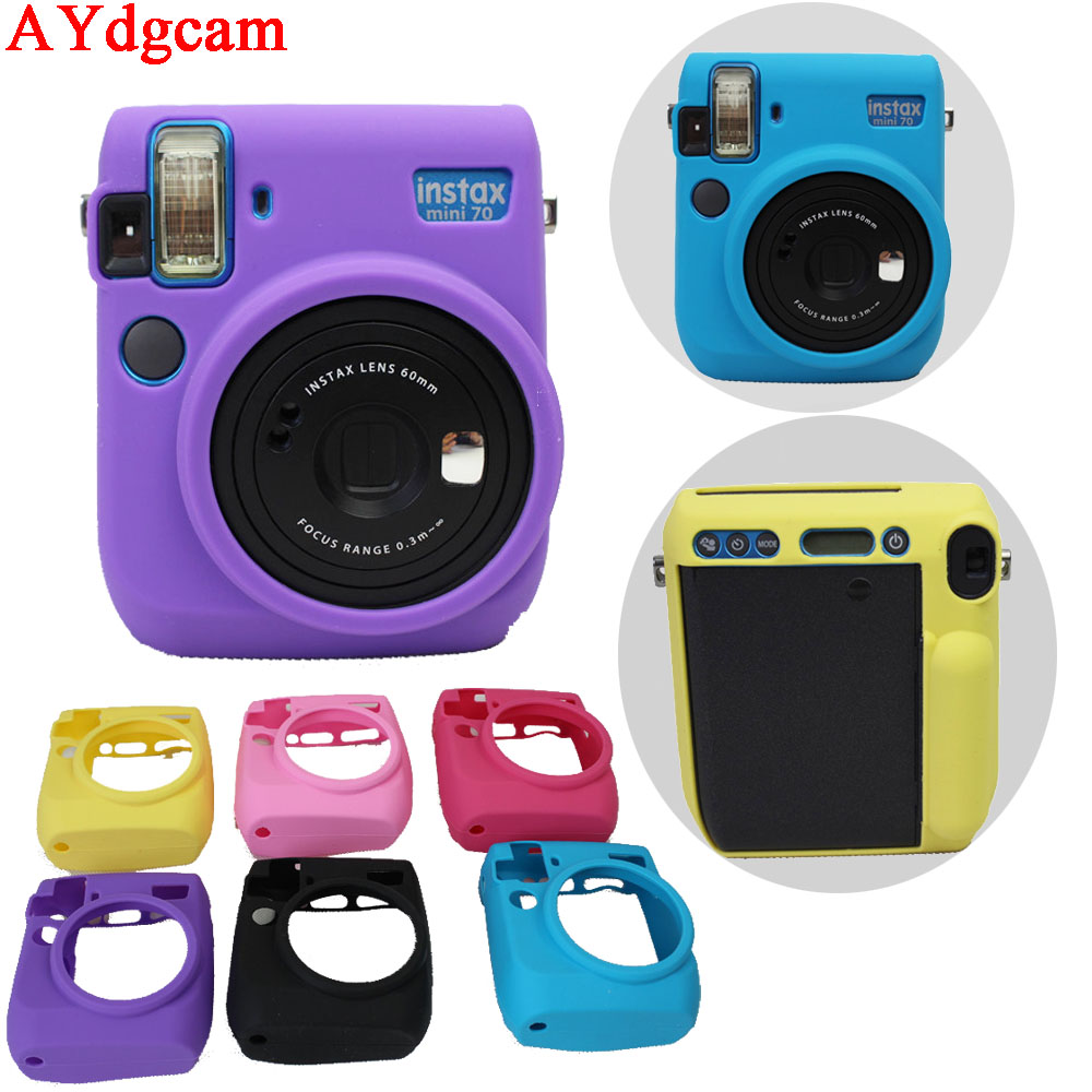nice soft camera bag for e fuji fujifilm instax mini 70. Black Bedroom Furniture Sets. Home Design Ideas