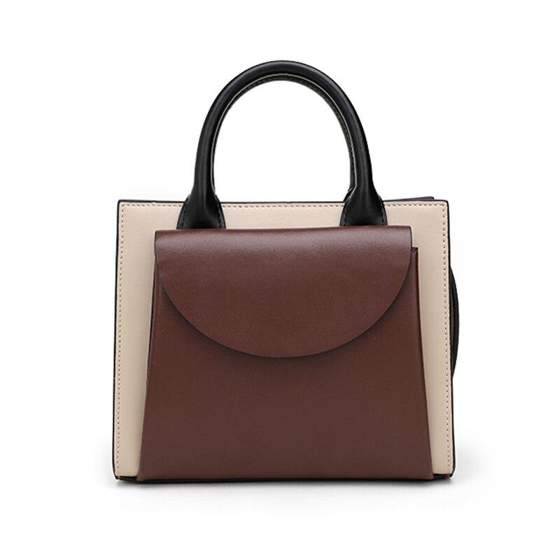 MIYACO Designer Handbag for Women Brand Mini Top Handle Bag Crossbody Bag Cow Lether Hand Bag Ladies Bags Satchel