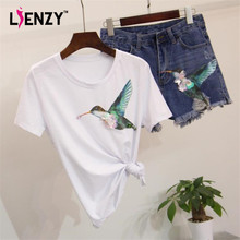 LIENZY Summer kingfisher Sequined