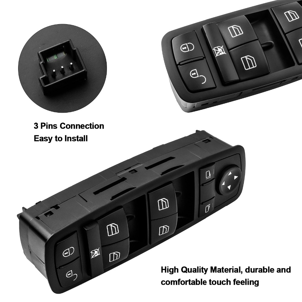 Electric Power Window Master Switch For Mercedes Benz B-Klasse W245 <font><b>A1698206610</b></font> 1698206610 image