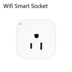 Image 3 - Wifi Smart Socket Smart Plug Tuya Smart Life App  US Plug  Remote Control Alexa Google Home Mini IFTTT Supports 2.4GHz Network