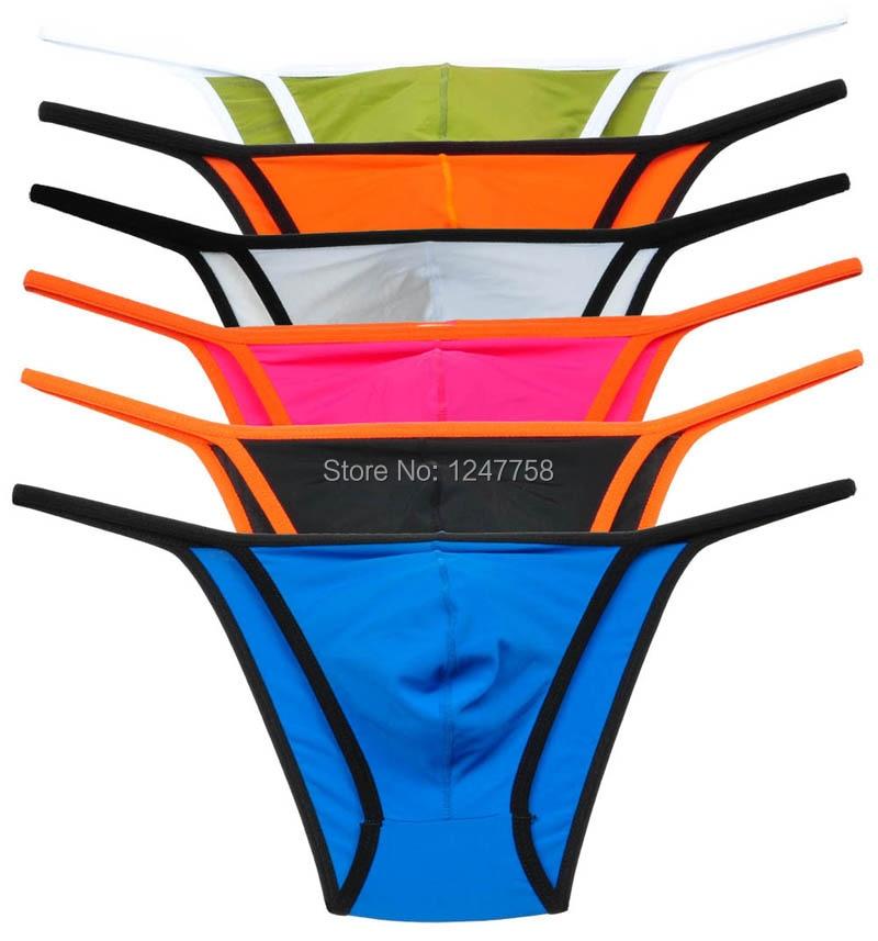 6Pcs/Lot Avant Garde Men's Underwear Skimpy String Bikini Pouch Thong Pants| bikinis for big busted women|bikini crochetbikini victoria - AliExpress