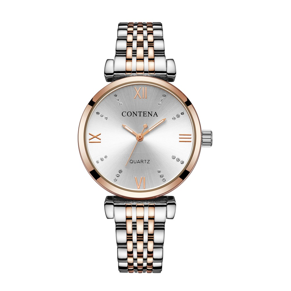 Ultra-thin Women's Watches Rose Gold Ladies Watch Bracelet Quartz Women Wrist Watch Female Montre Femme Clock Relogio Feminino 6