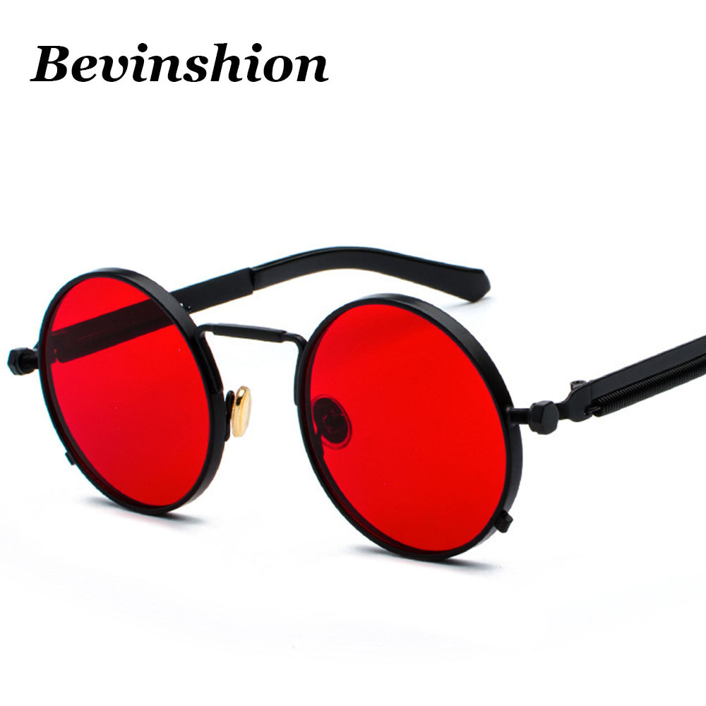 Faviye Vintage Gothic Steampunk Protective Sunglasses for Men and Women a