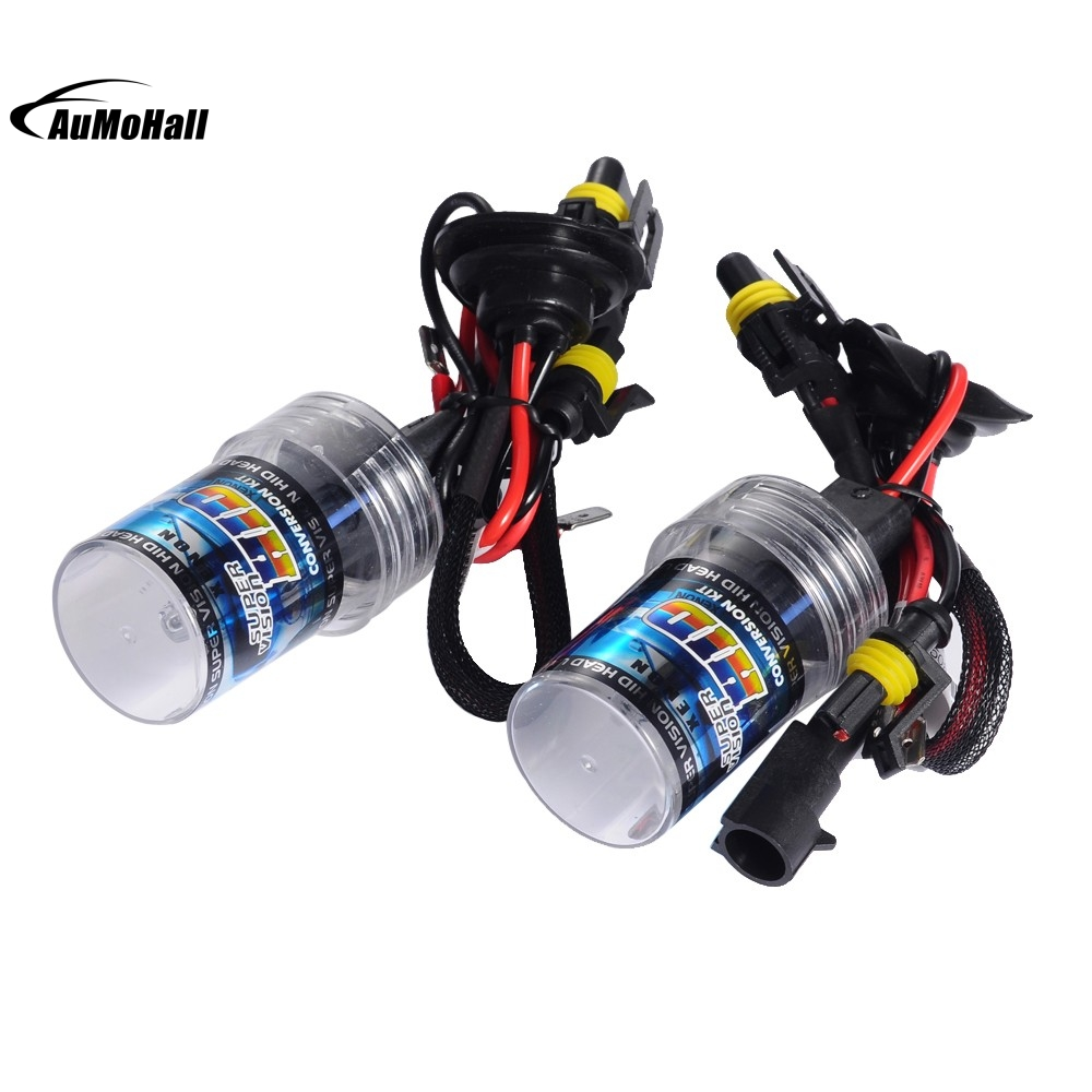 Car Light Source 2Pcs 4300K Car Head Light Replacement H7 Xenon HID Headlight 35W Bulb Lamp 2pcs 6000k car head light replacement xenon hid kit 880 car headlight 35w bulb lamp truck