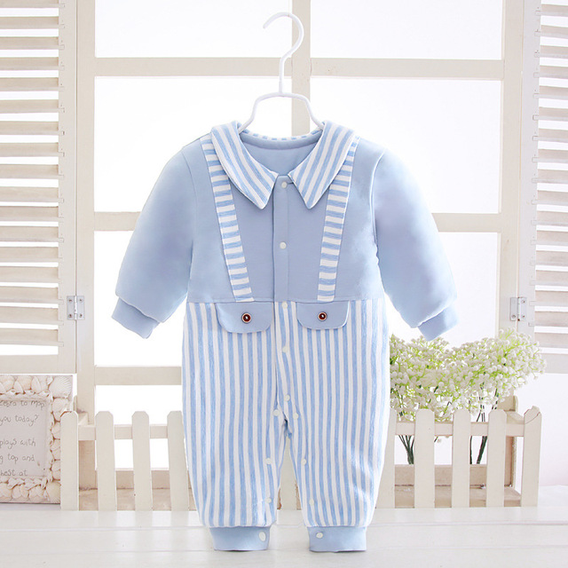 411df7f40155 2018 Toddler Baby Rompers Autumn Roupas Infant Jumpsuits Boy One ...