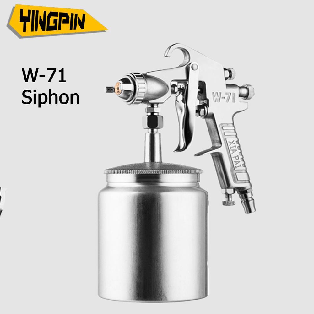 W-71 spray gun  1.5mm,pneumatic latex paint spray machine,paint spray gun,car spray gun tool