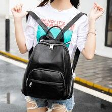 A1737 женщин Рюкзаки женские из искусственной кожи Рюкзаки девочек-подростков студент колледжа Повседневная сумка женская школьная сумки на плечо