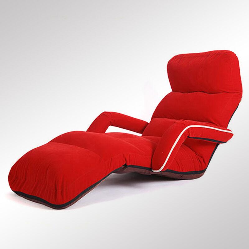 Aliexpress.com : Boden Daybed Wohnzimmer Sofa Möbel Einstellbare Faltbare  Wildleder 6 Farben Chaise Lounge Sessel Stuhl Schlafsofa Von Verlässlichen  Chair ...