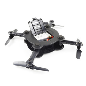 Eachine E55 WiFi FPV Foldable Pocketable Camera Drone With High Hold Mode RC Mini Quadcopter Helicopter VS VISUO XS809HW M69 3