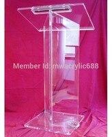 Minber furnitureFree Kargo Yüksek Kalite Fiyat Makul Güzel Akrilik Podyum Minber Lecternacrylic minber