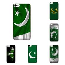 Pakistan Flag For Apple iPhone X XS Max XR 4 4S 5 5C 5S SE 6 6S 7 8 Plus TPU Print Cover Case