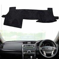 Flannel Dashmat Dashboard Cover Dash Car Mat Carpet Car styling for toyota mark x 2010 2011 2012 2013 2014 2015 2016 2017 2018