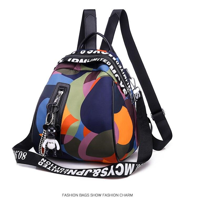HTB1jZf4bh rK1RkHFqDq6yJAFXaM New Multifunction Backpack Women Waterproof Oxford Bagpack Female Anti Theft Backpack Schoolbag for Girls 2019 Sac A Dos mochila