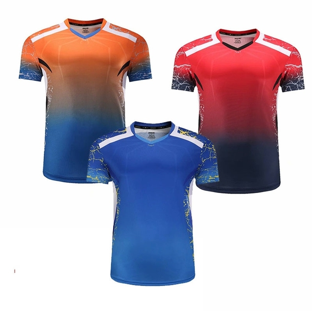 Tennis T Shirts , badminton shirt women , badminton Jersey men , tenis masculino , vetement homme , table tennis shirt xiom men