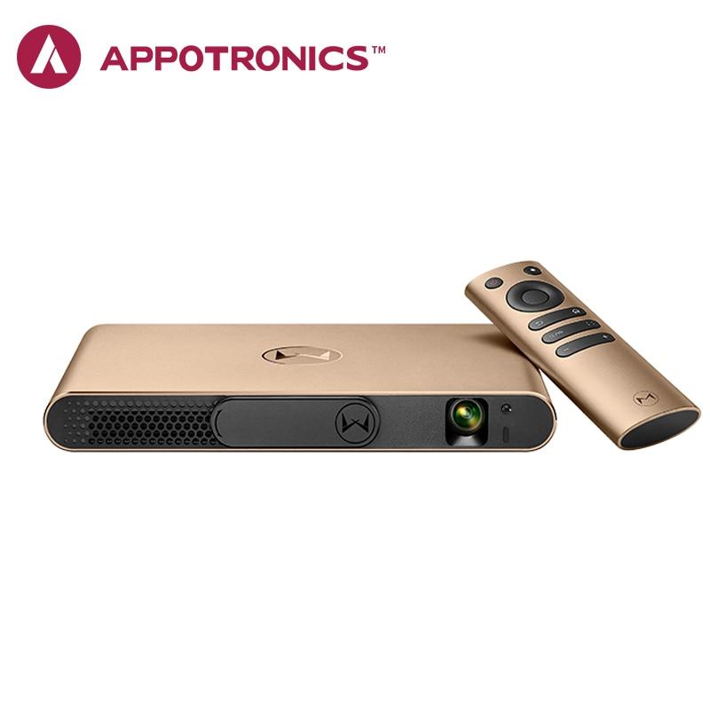 Appotronics S2 Laser Projecteur Portable Projecteur Android ALPD DLP Mise Au Point Automatique 3D Projecteur Android 4.4 Proyector Beamer