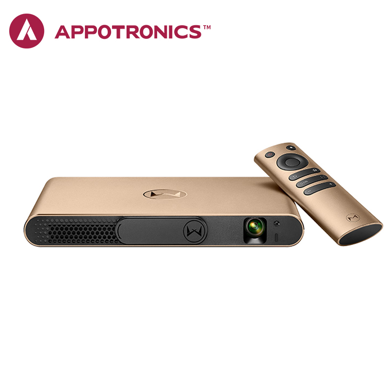 Appotronics S2 Laser Projector Portable Projector Android ALPD DLP Automatic Focusing 3D Projector Android 4.4 Proyector Beamer everyone gain appotronics a1 3d laser projector xming 4k dlp projector home cinema projetor alpd full hd 1080p wifi beamer