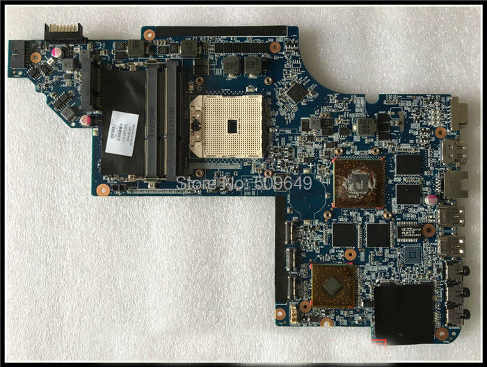Top quality , For HP laptop mainboard DV7 DV7-6000 645386-001 laptop motherboard,100% Tested 60 days warranty 645386 001 laptop motherboard for hp dv7 6000 notebook pc system board main board ddr3 socket fs1 with gpu