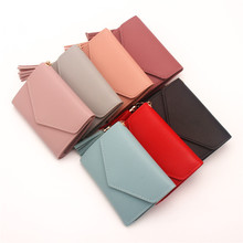 Womens Wallets And Purses small Ladies Wallet leather porte feuille femme carteras mujer