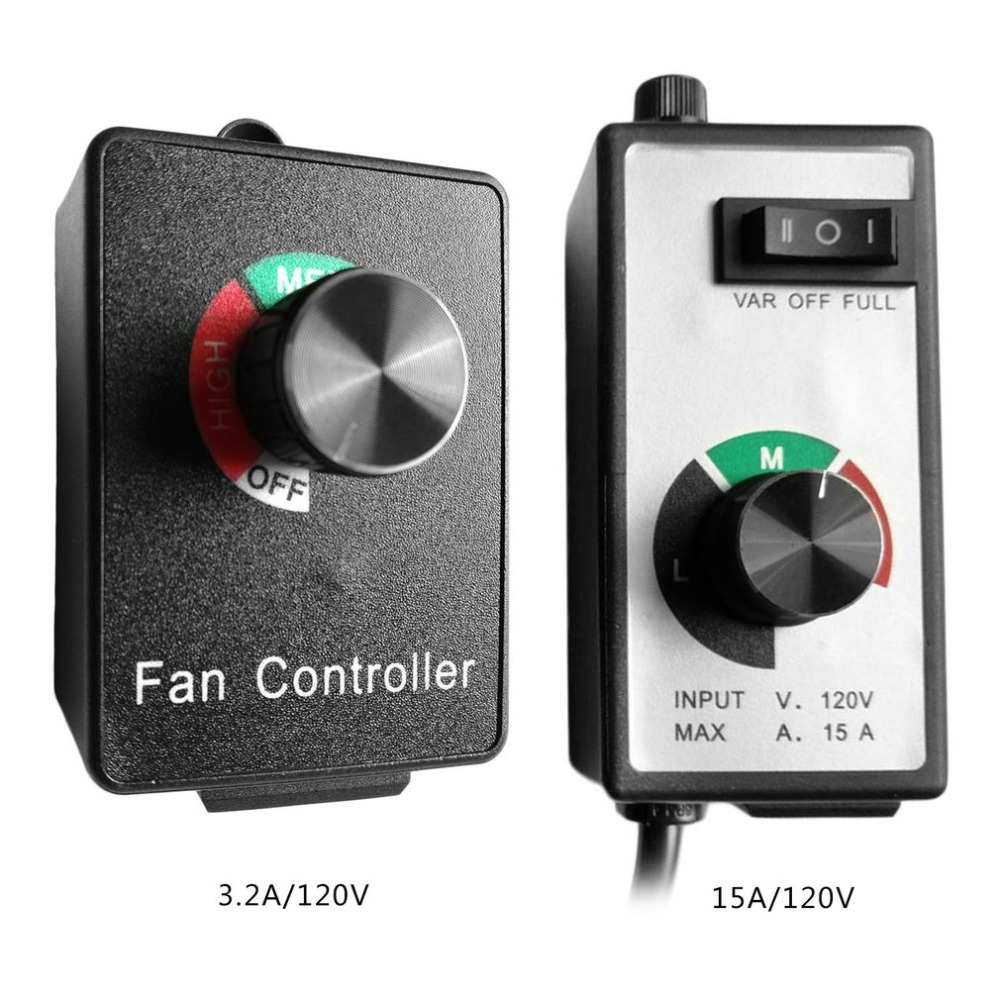 Professional Variable Blower Speed Fan Controller Practical Easy To Use Inline Duct Exhaust Fan Speed Controller Tools