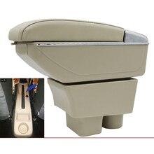 Car armrest box central Store box for skoda fabia 5J fabia MG 2007 2008 2009 2010 2011 2012 2013 2014